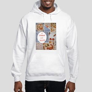 Grandma Quilts Hooded Sweatshirt