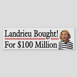 Landrieu Bought!