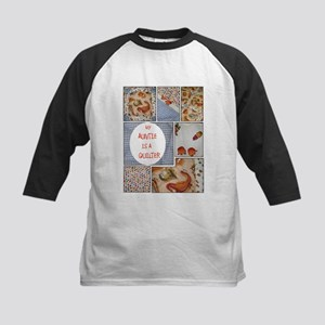 AUNTIE QUILTER Kids Baseball Jersey