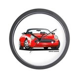 T bird Wall Clocks