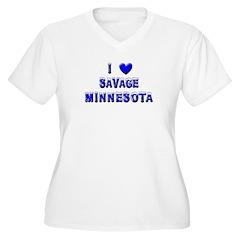 I Love Savage Winter T-Shirt