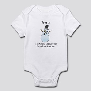 All Natural Frosty the Snowma Infant Bodysuit