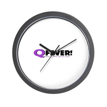 The Q Fever! Wall Clock