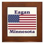 Eagan Flag Framed Tile