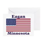 Eagan Flag Greeting Cards (Pk of 10)