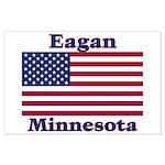 Eagan Flag Large Poster