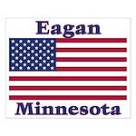 Eagan Flag Small Poster