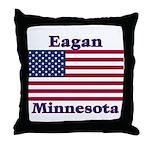 Eagan Flag Throw Pillow