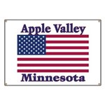 Apple Valley Flag Banner