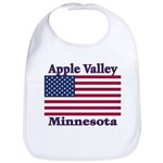 Apple Valley Flag Bib
