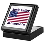 Apple Valley Flag Keepsake Box