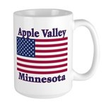 Apple Valley Flag Large Mug