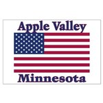 Apple Valley Flag Large Poster