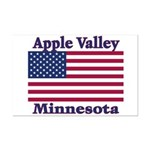 Apple Valley Flag Mini Poster Print