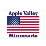Apple Valley Flag Postcards (Package of 8)