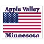 Apple Valley Flag Small Poster