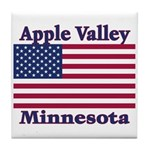 Apple Valley Flag Tile Coaster