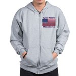 Apple Valley Flag Zip Hoodie