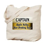 Apple Valley Beer Drinking Team Tote Bag
