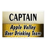 Apple Valley Beer Drinking Team Postcards (Package
