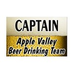 Apple Valley Beer Drinking Team Mini Poster Print