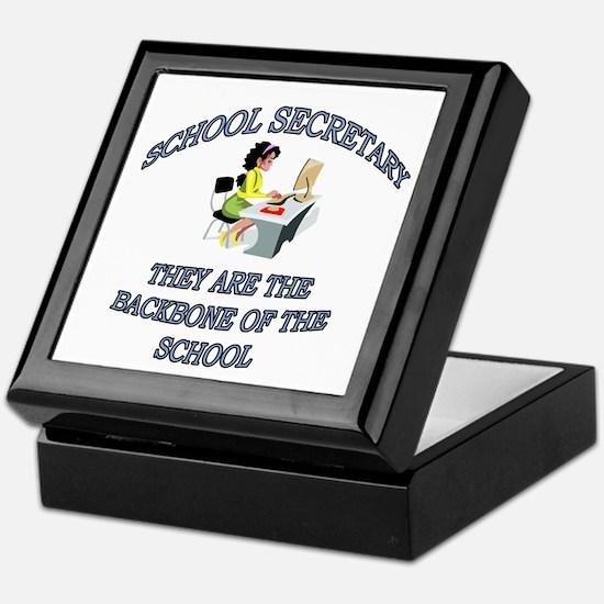 Unique School secretary Keepsake Box