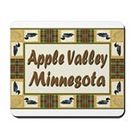 Apple Valley Loon Mousepad