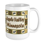 Apple Valley Loon Large Mug