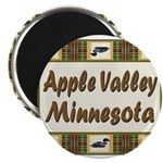 Apple Valley Loon Magnet