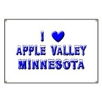 I Love Apple Valley Winter Banner
