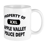 Property of Apple Valley Police Dept Mug