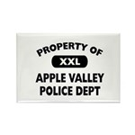Property of Apple Valley Police Dept Rectangle Mag