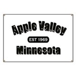 Apple Valley Established 1969 Banner