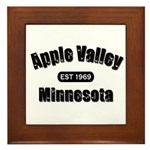 Apple Valley Established 1969 Framed Tile