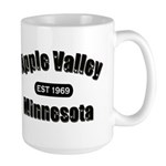Apple Valley Established 1969 Large Mug
