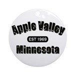 Apple Valley Established 1969 Ornament (Round)