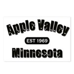 Apple Valley Established 1969 Postcards (Package o