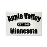 Apple Valley Established 1969 Rectangle Magnet (10