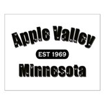 Apple Valley Established 1969 Small Poster