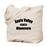 Apple Valley Established 1969 Tote Bag
