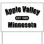 Apple Valley Established 1969 Yard Sign