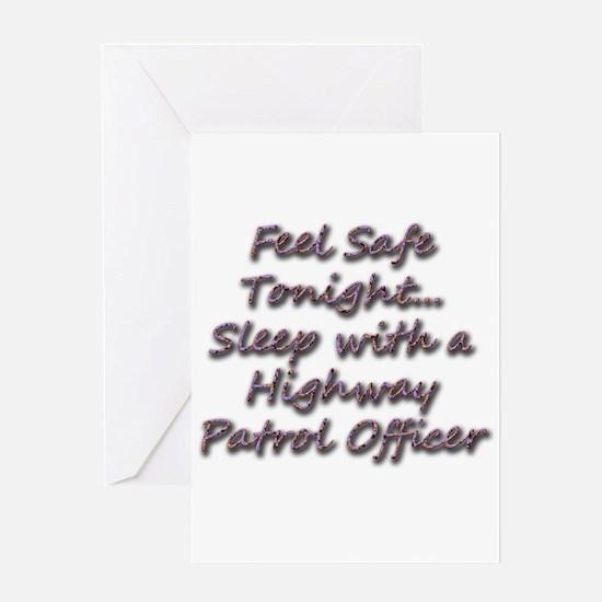 Funny Cop humor Greeting Card