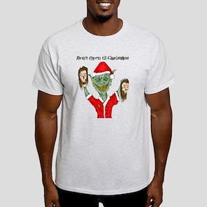 Don't Open Til Christmas Light T-Shirt