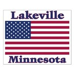 Lakeville Flag Small Poster