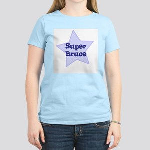 Super Bruce Women's Pink T-Shirt