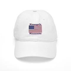 Minneapolis Flag Baseball Cap