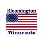 Bloomington Flag Large Poster