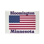 Bloomington Flag Rectangle Magnet