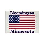 Bloomington Flag Rectangle Magnet (100 pack)
