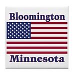 Bloomington Flag Tile Coaster